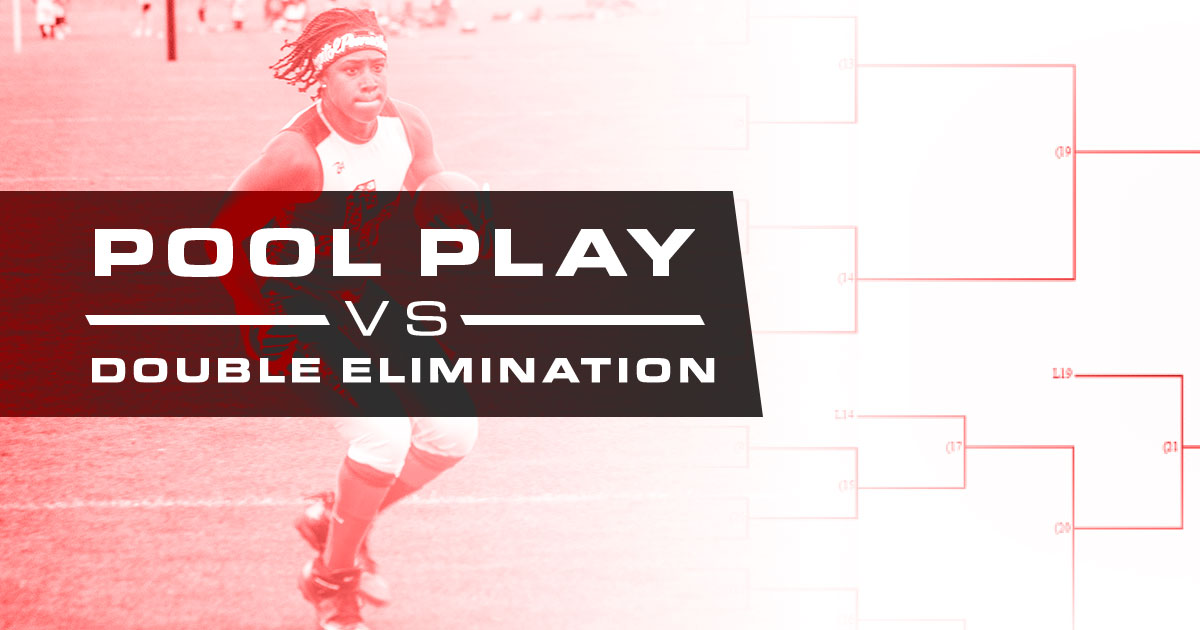 pool play vs double elimination